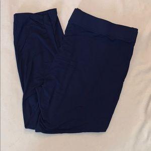 Lily Morgan size 1X blue lounge pants